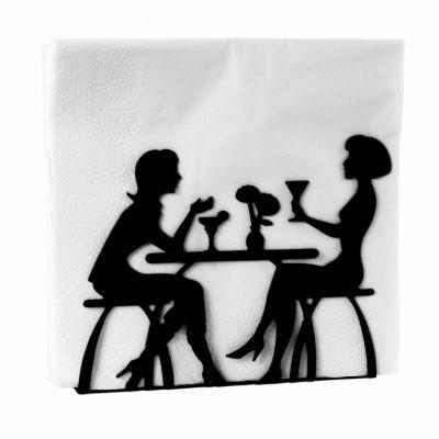 Silhouette servetten houder