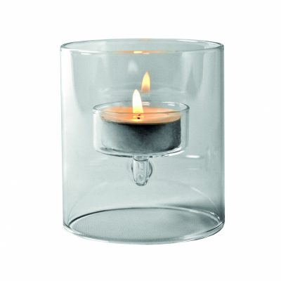 Floating Glass candle holder
