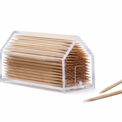Toothpick chalet